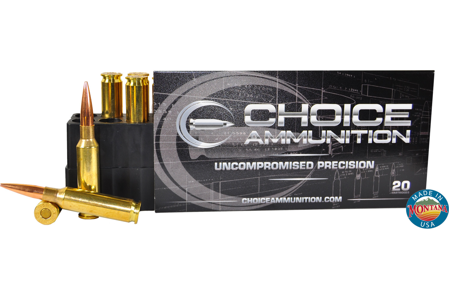 65 Mm Creedmoor 140 Grain Berger VLD Hunting100 Hand Loaded